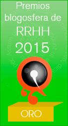 Premio Oro en Blogosfera RRHH 2015
